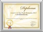 Locul 1 in Top Profit Romania 2012