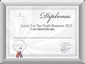 Locul 2 in Top Profit Romania 2012